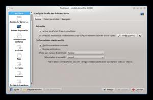 Configuración del comportamiento de ventana en KDE