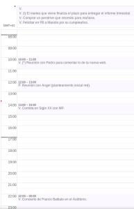 Ejemplo con Google Calendar