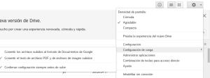 Opción OCR Google Drive